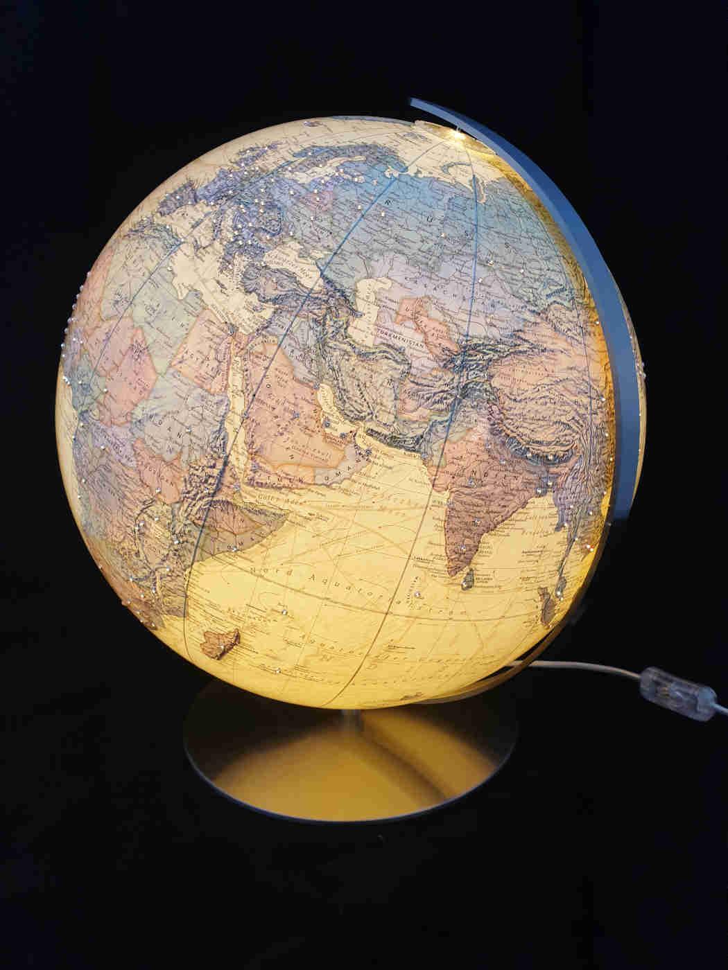 columbus globus royal swarovski