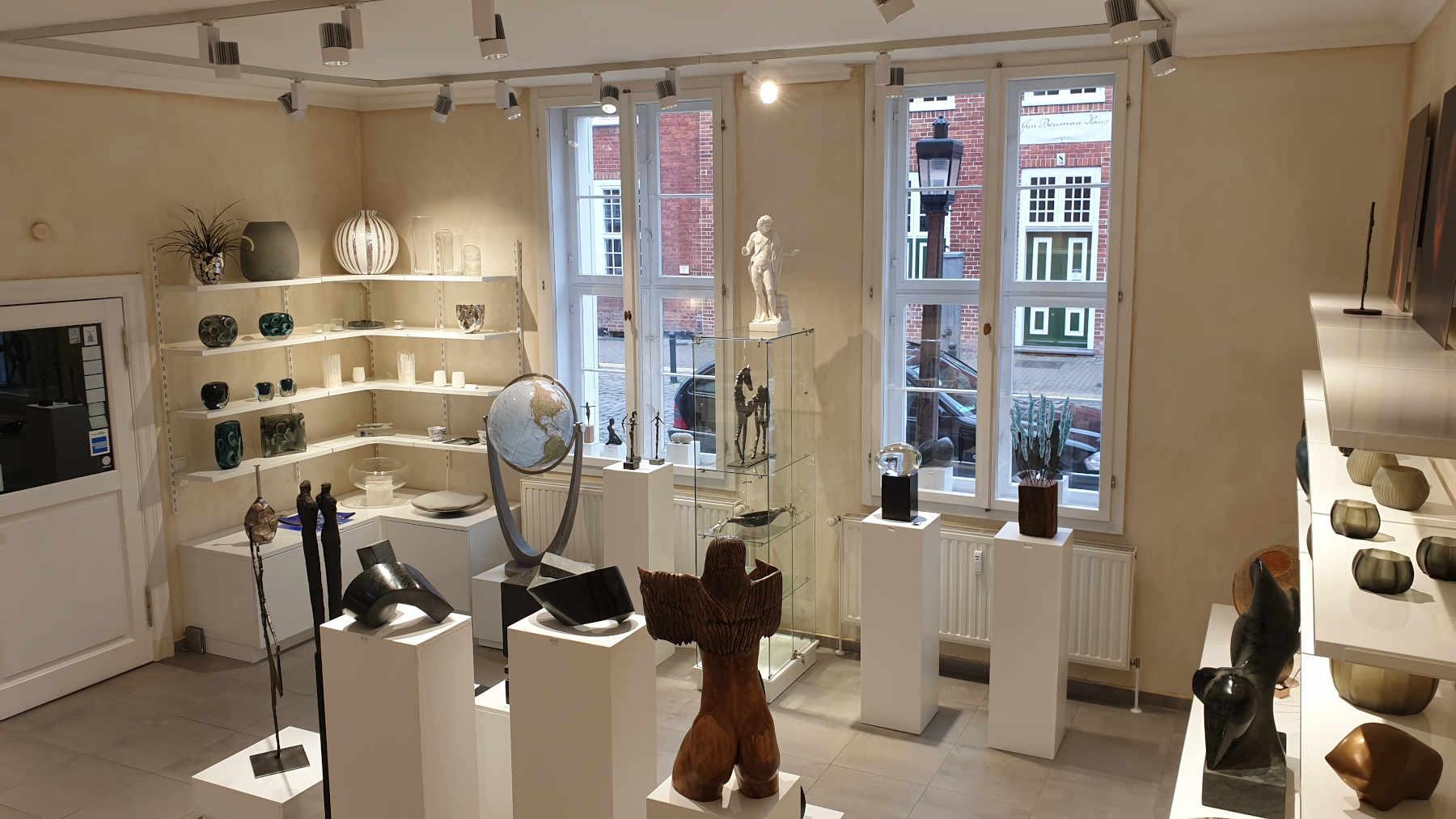 Galerie Potsdam M.concept Skulpturen, Glasobjekte, Fotografien